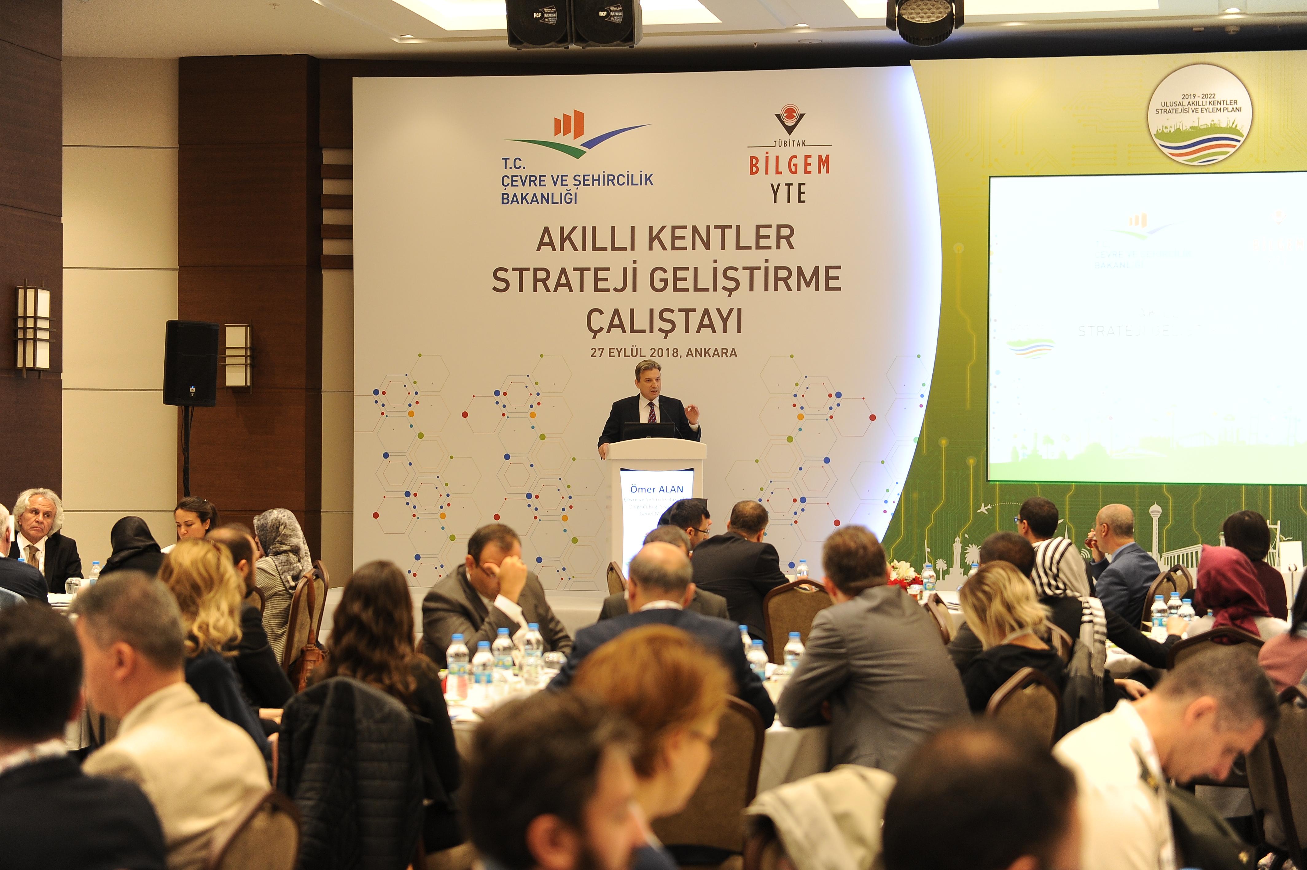Akılı Kent Stratejisi ve Eylem Planı Projesi Strateji Geliştirme Çalıştayı Yapıldı.