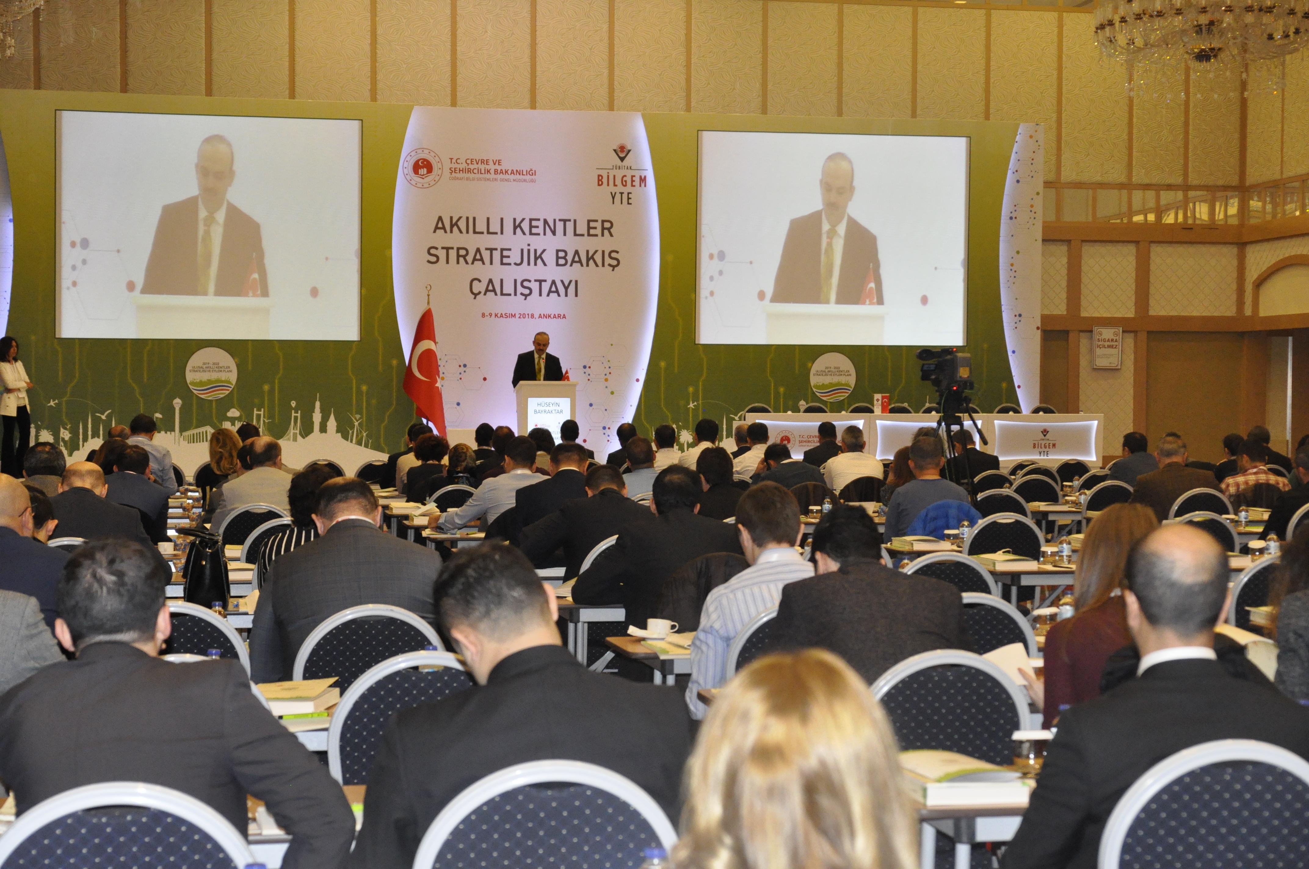 Akıllı Kentler Stratejik Bakış Çalıştayı Düzenlendi.