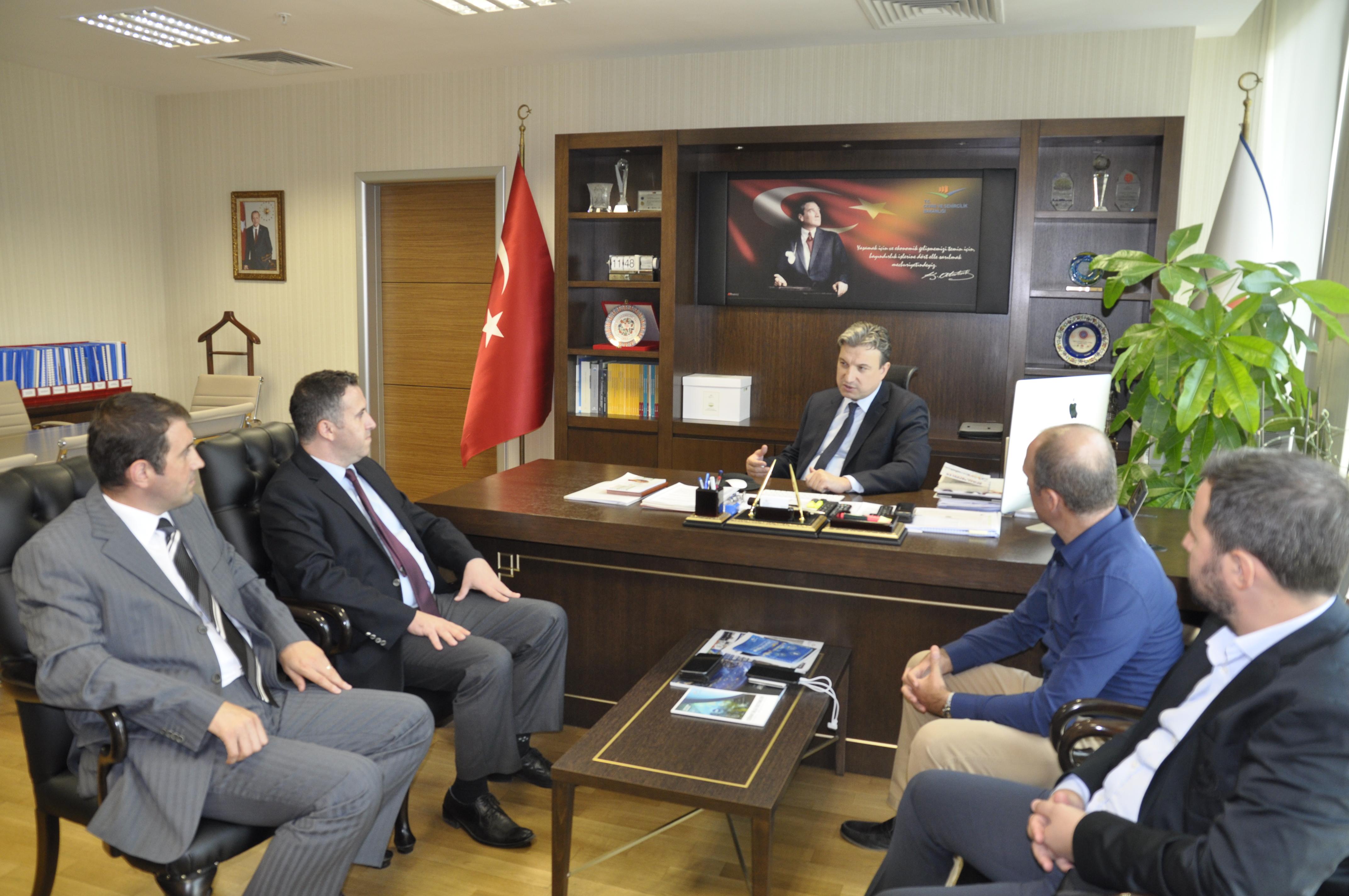 Çevre ve Şehircilik Bakanlığı'na Balıkesir Üniversitesi'nin İş Birliği Ziyareti