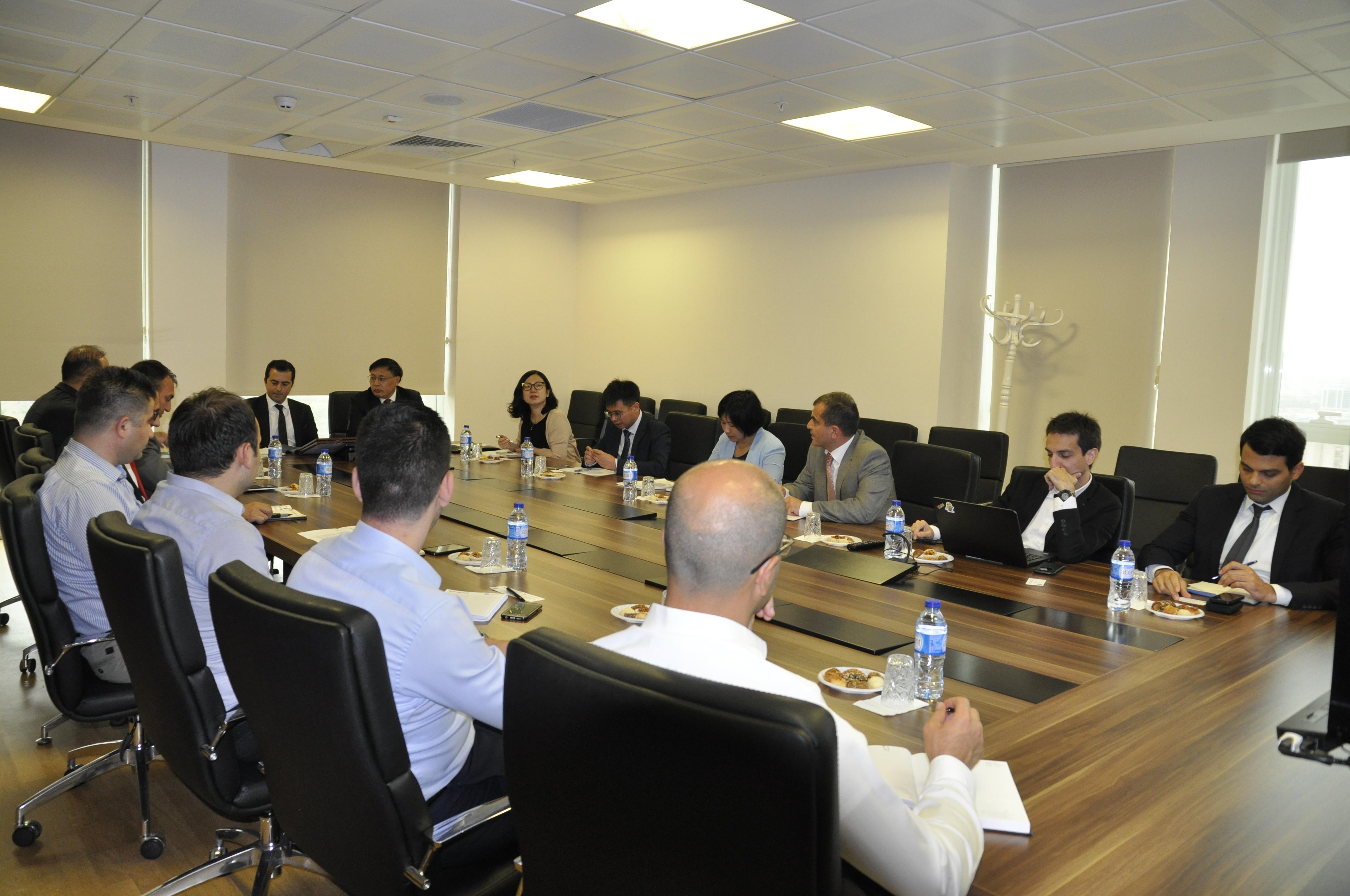 Çin Halk Cumhuriyeti Doğal Kaynaklar Bakanlığı Genel Müdürlüğümüzü Ziyaret Etti.