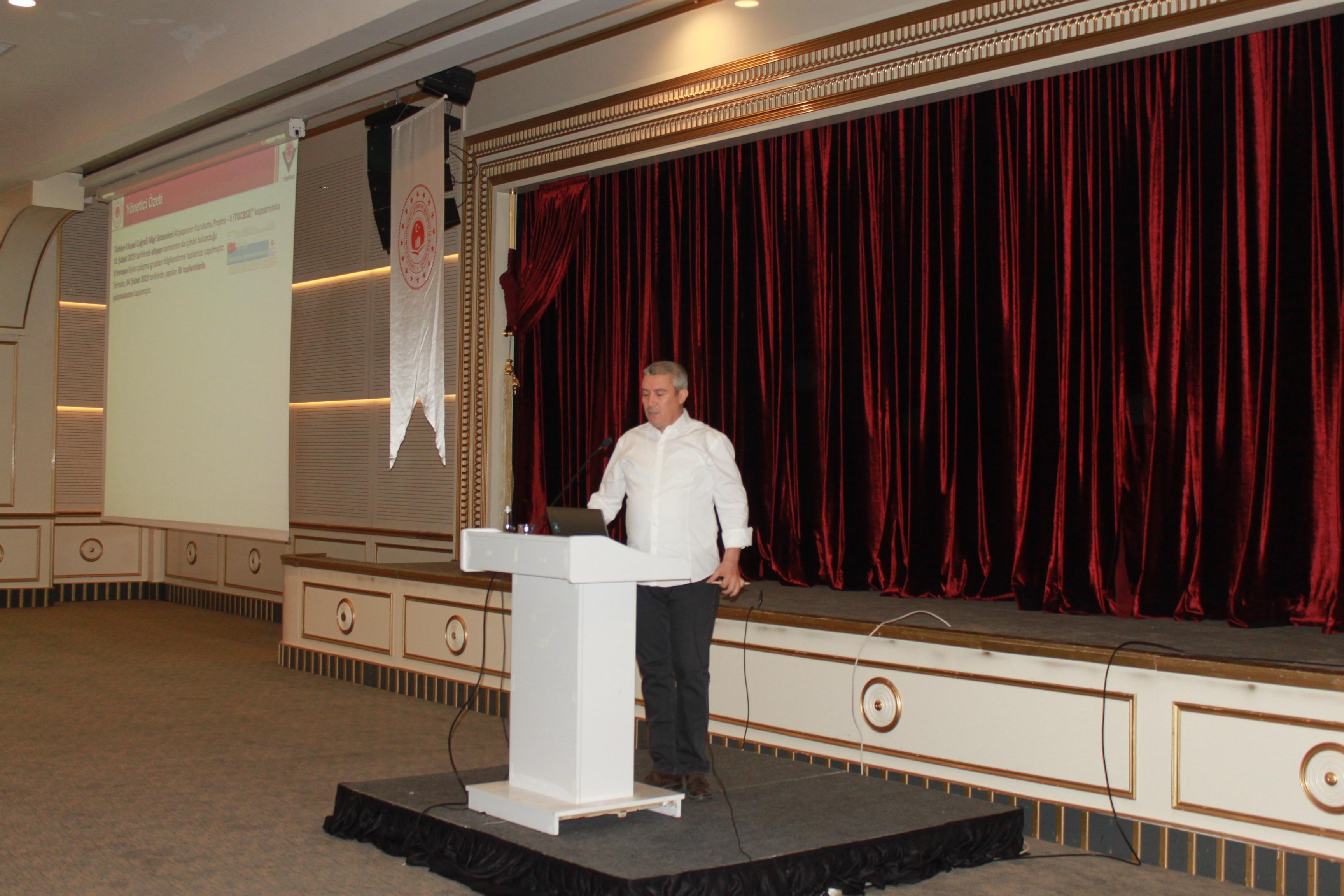 Coğrafi Veri Temaları Standartları Bilgilendirme ve Değerlendirme Çalıştayı Yapıldı.