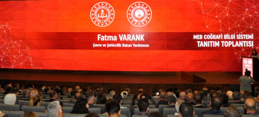 """""""Milli Eğitim Bakanlığı Coğrafi Bilgi Sistemi"""" Tanıtım Toplantısına Katılım Sağlanmıştır."""