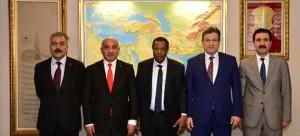 Nijer Cumhuriyeti Toprak ve Konut Bakanı Waziri MAMAN Ziyareti