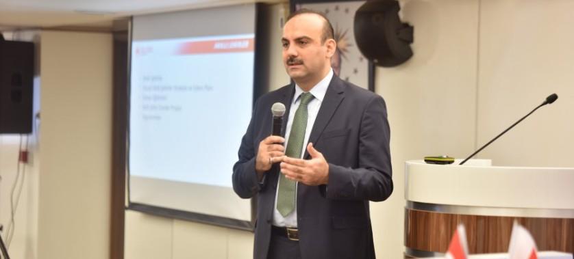 Türkiye Belediyeler Birliği Akıllı Şehirler Kongresine Katılım Sağlandı.