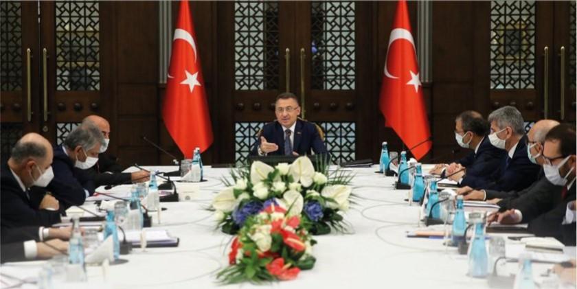 Cumhurbaşkanı Yardımcısı Sayın Fuat OKTAY başkanlığında, Türkiye Coğrafi Bilgi Sistemi Kurulu 3. Toplantısı gerçekleştirilmiştir.