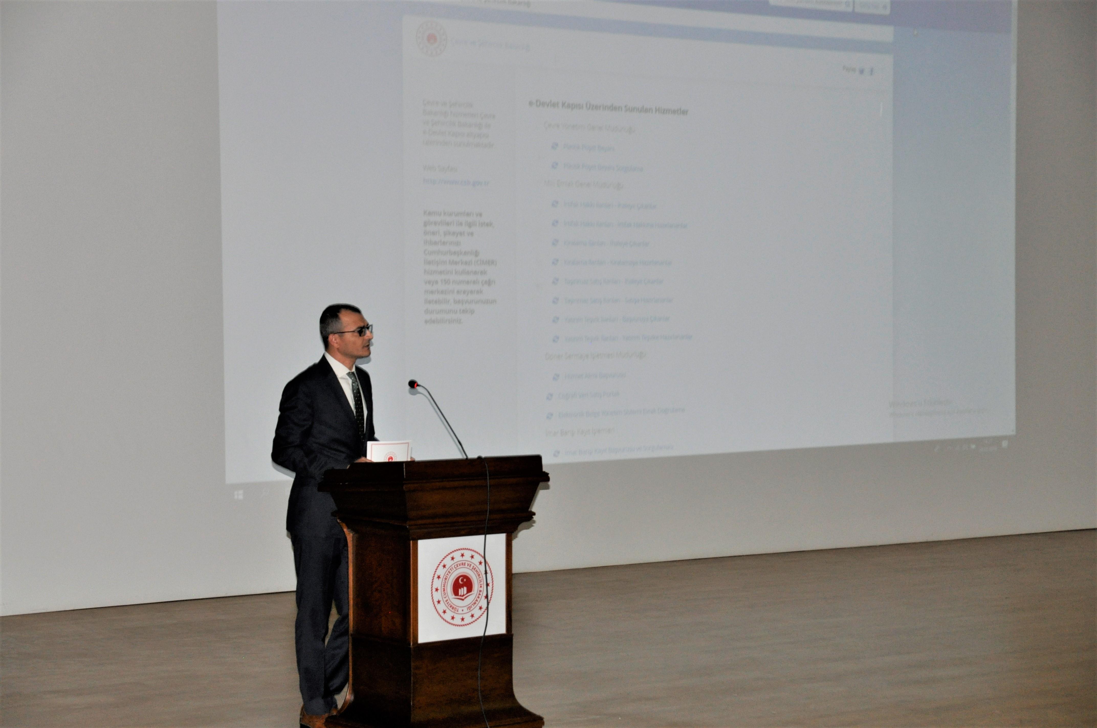e-Başvuru Platformunun Tanıtımı Yapıldı.
