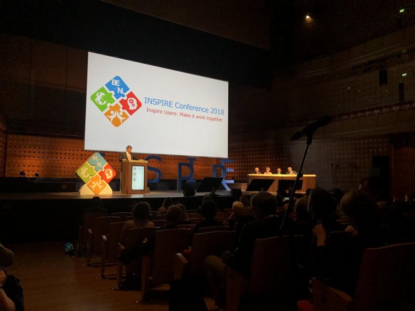INSPIRE 2018 Konferansına Genel Müdürlüğümüz Katılım Sağladı.