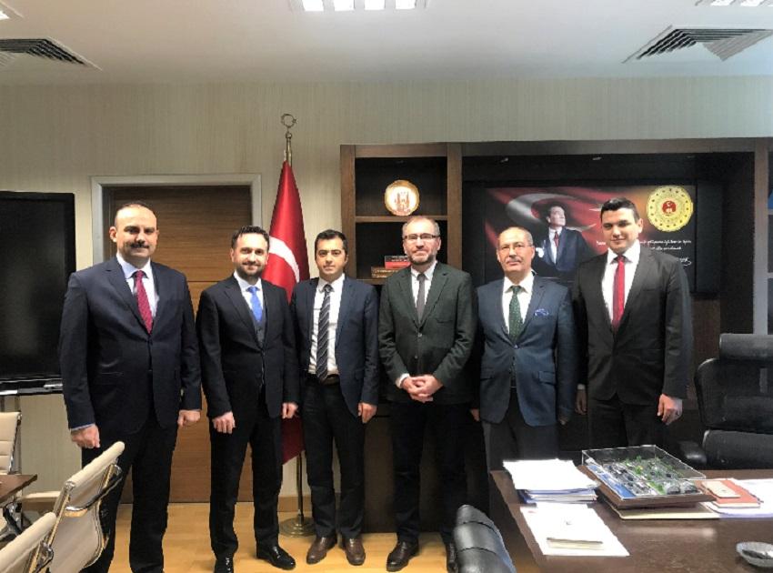 İstanbul Bilişim ve Akıllı Kent Teknolojileri A.Ş. (İSBAK A.Ş.) Ziyareti.
