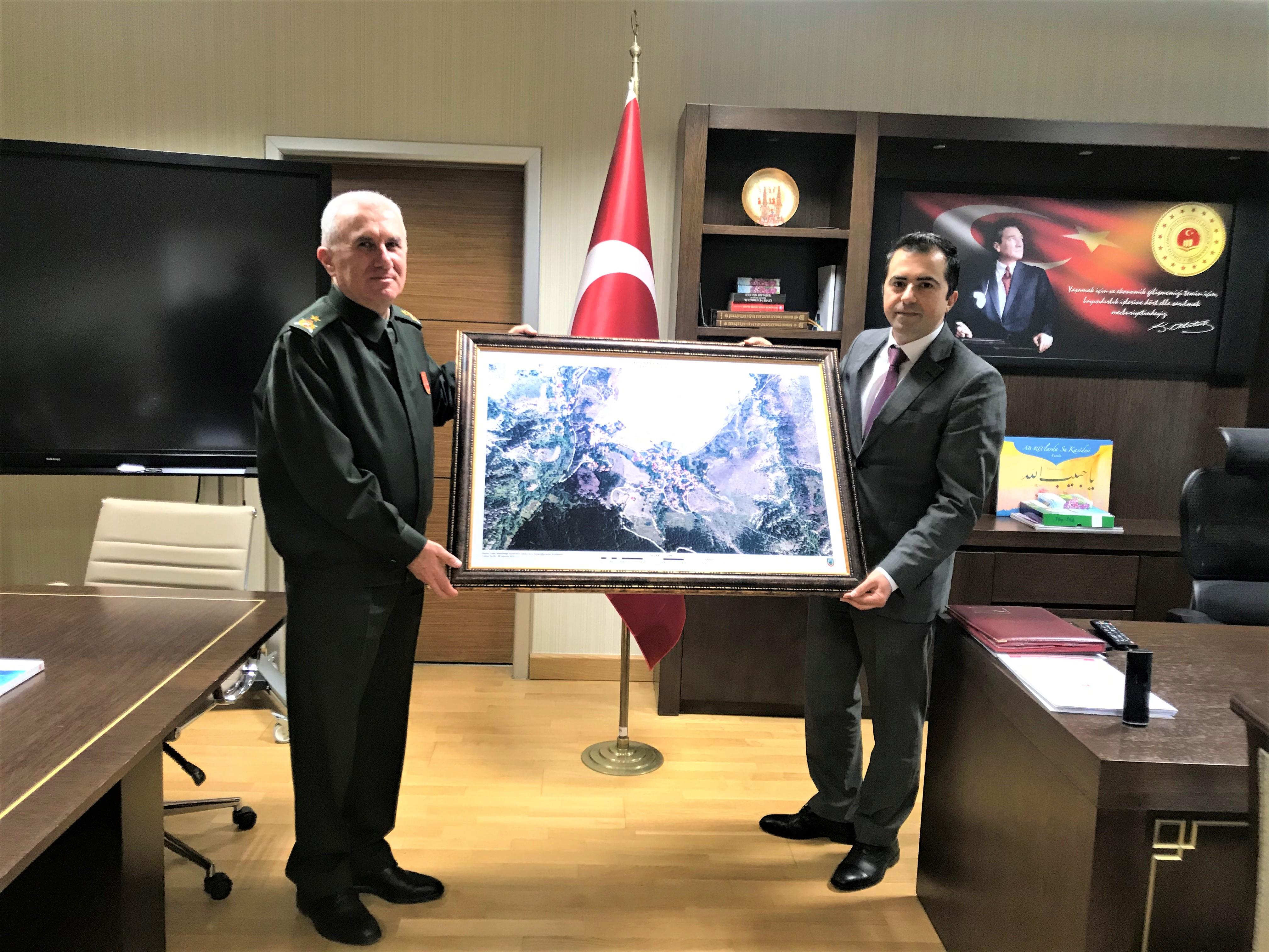 Milli Savunma Bakanlığı, Harita Genel Müdürlüğünden Genel Müdürlüğümüze Ziyaret.