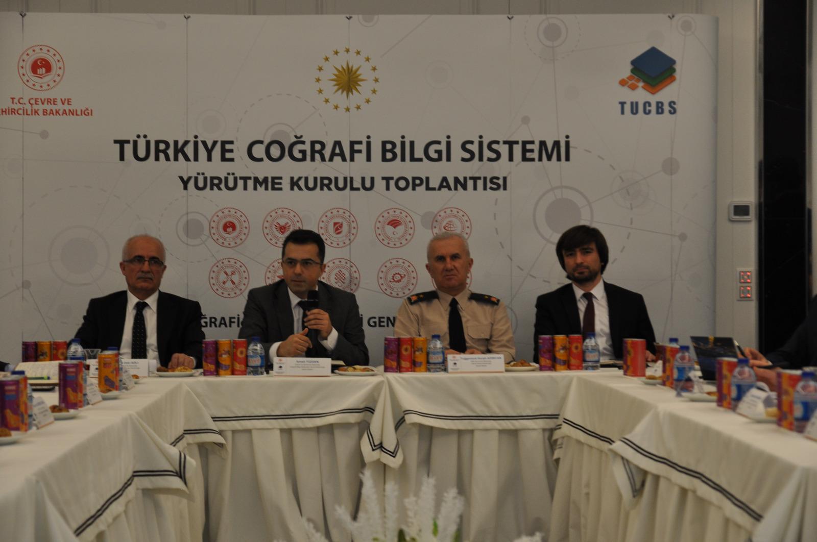Türkiye Coğrafi Bilgi Sistemi Yürütme Kurulu Toplantısı Gerçekleştirildi.