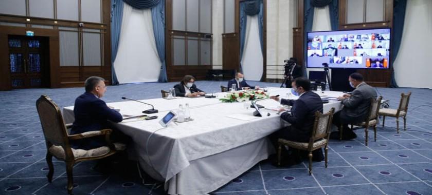Türkiye Coğrafi Bilgi Sistemleri Kurulu 2. Toplantısı Cumhurbaşkanı Yardımcısı Sayın Fuat Oktay Başkanlığında  30 Eylül 2020 tarihinde Gerçekleştirildi.