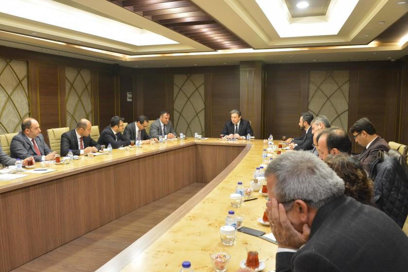 Türkiye Ulusal Coğrafi Bilgi Sistemi (TUCBS)  Coğrafi Veri Teması Çalışma Grupları Bilgilendirme Toplantısı Gerçekleştirildi.