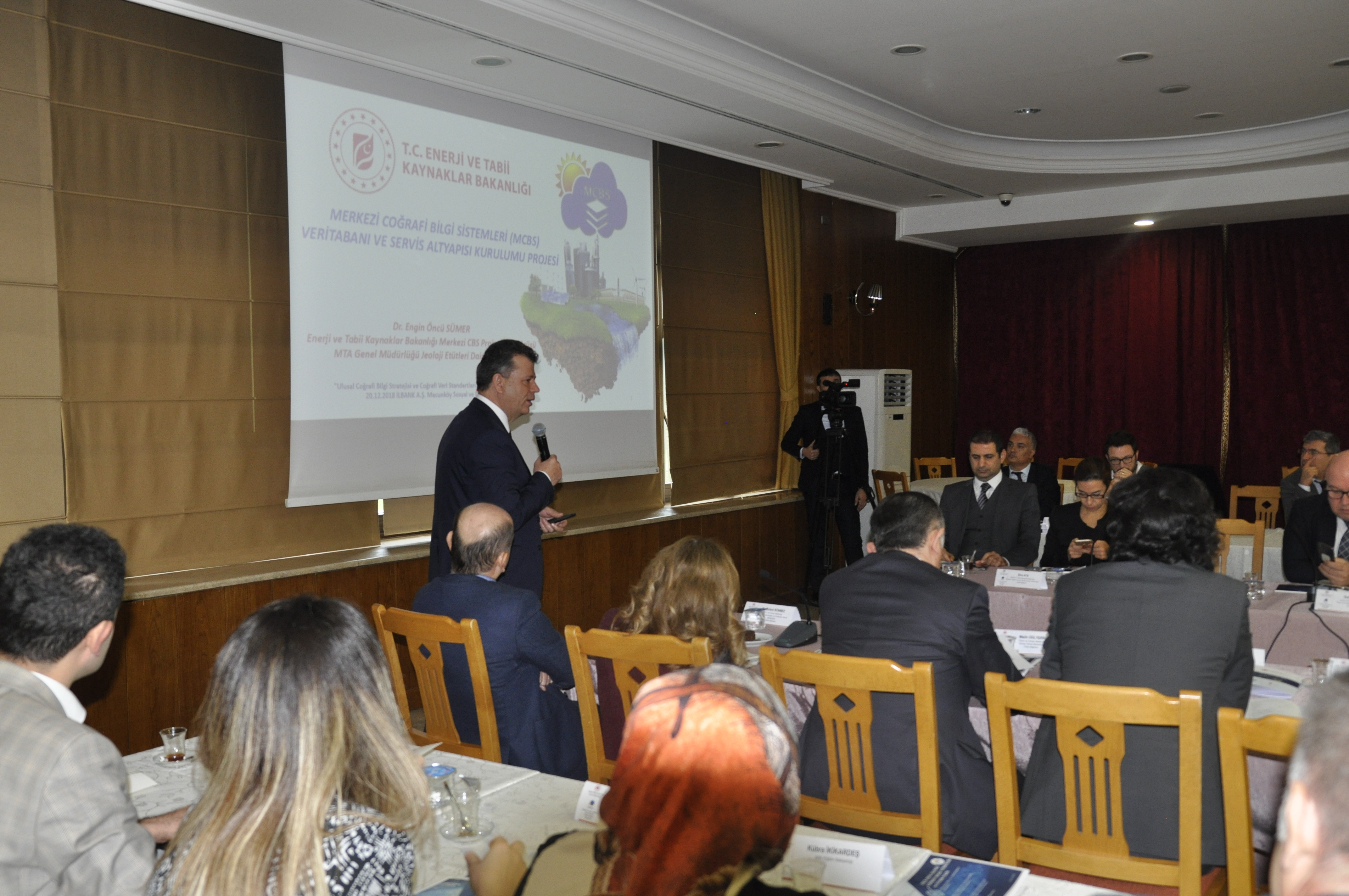 Türkiye Ulusal Coğrafi Bilgi Sistemi (TUCBS) Teknik Komite Toplantısının Üçüncüsü Gerçekleştirildi.