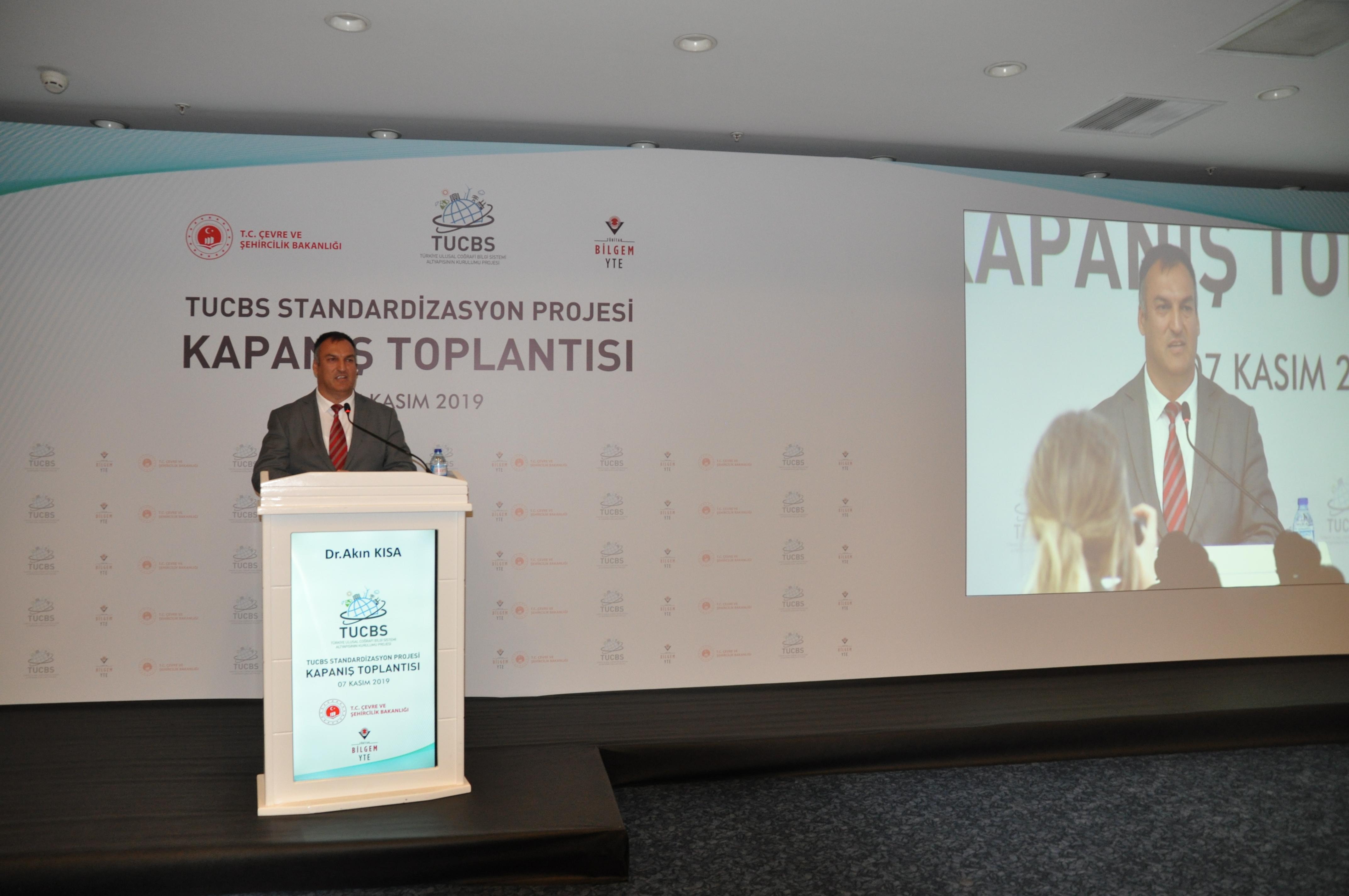 Türkiye Ulusal Coğrafi Bilgi Sistemi Standardizasyon Projesi Kapanış Toplantısı Yapıldı.