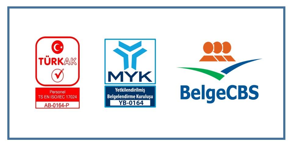 Personel Belgelendirme Birimi (BelgeCBS) MYK Tarafından Sınav ve Belgelendirme Yapmak Üzere Yetkilendirildi.