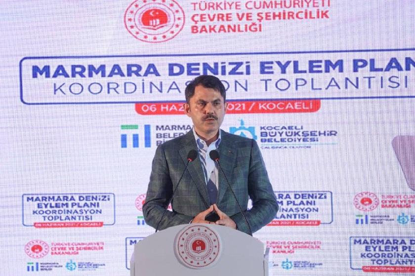 "BAKAN KURUM, ""MARMARA DENİZİ EYLEM PLANINI"" AÇIKLADI"