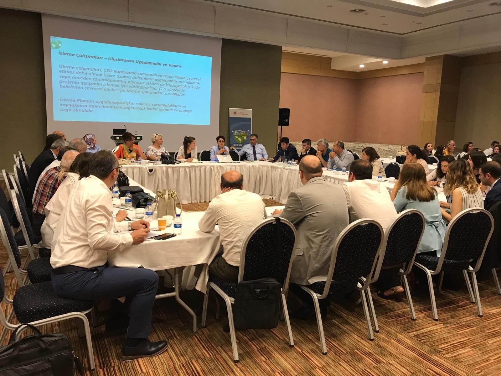 ÇED Yönetmeliği'nin Geliştirilmesi Projesi kapsamında çalışma toplantıları gerçekleştirilmiştir.