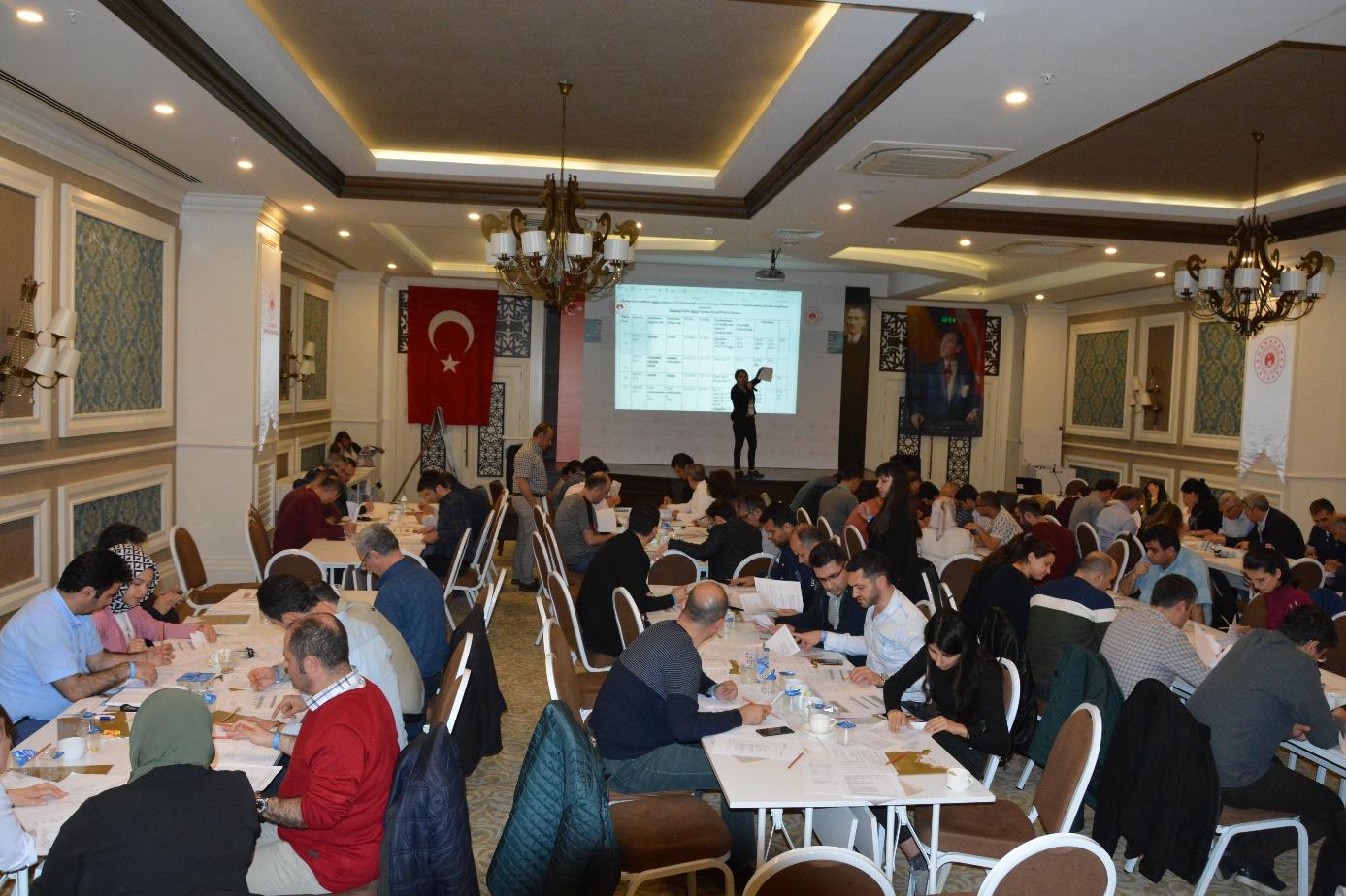 """""""Çevre Denetim Görevlisi Eğitimi""""; 02-06 Nisan 2019 tarihleri arasında Antalya'da gerçekleştirilmiştir."""