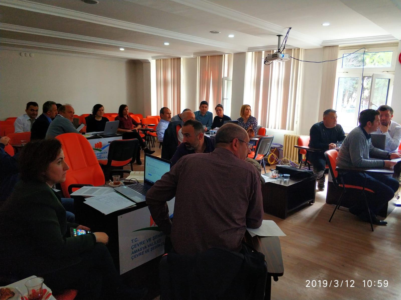 Çevre Denetimlerinin Planlanması Çalıştayı Gerçekleştirilmiştir.