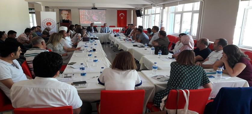 Çevre ve Şehircilik İl Müdürlükleri İstişare Toplantılarının üçüncüsü Konya Çevre ve Şehircilik İl Müdürlüğü'nde gerçekleştirildi.