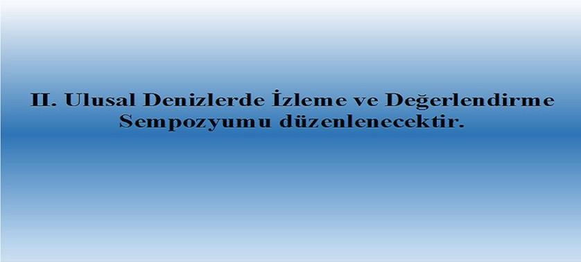Denizlerde Bütünleşik Kirlilik İzleme Programı (Den-İZ)