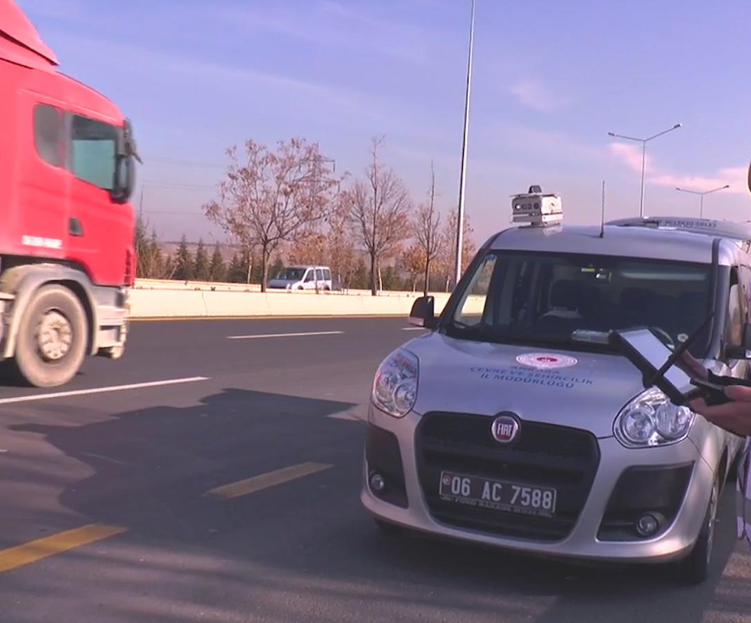EGEDES İle Egzoz Gazı Emisyon Ölçümü Yaptırılmayan Araçlar Trafikte Akışı Aksatmadan Otomatik Olarak Tespit Edilecek