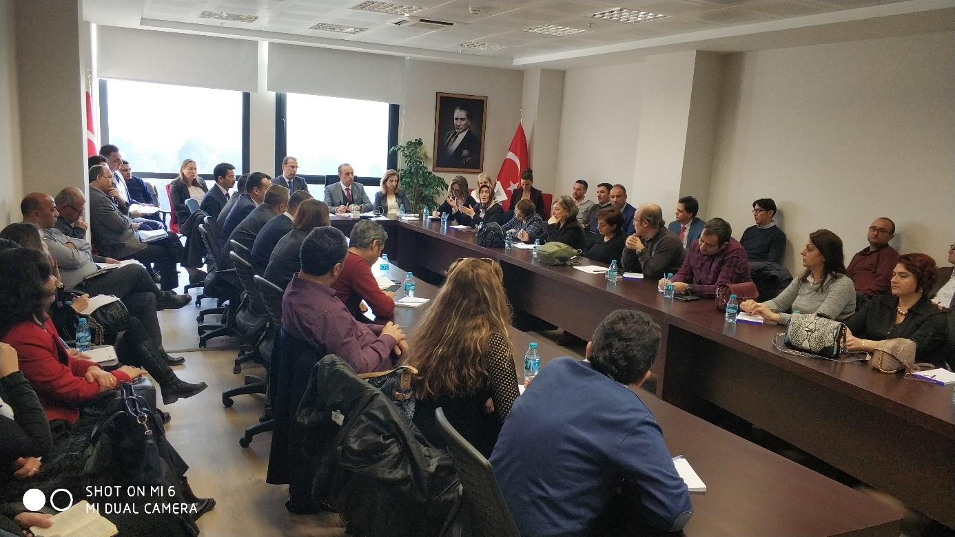 İl Müdürlükleri istişare toplantısı İzmir Çevre ve Şehircilik İl Müdürlüğü'nde gerçekleştirildi.