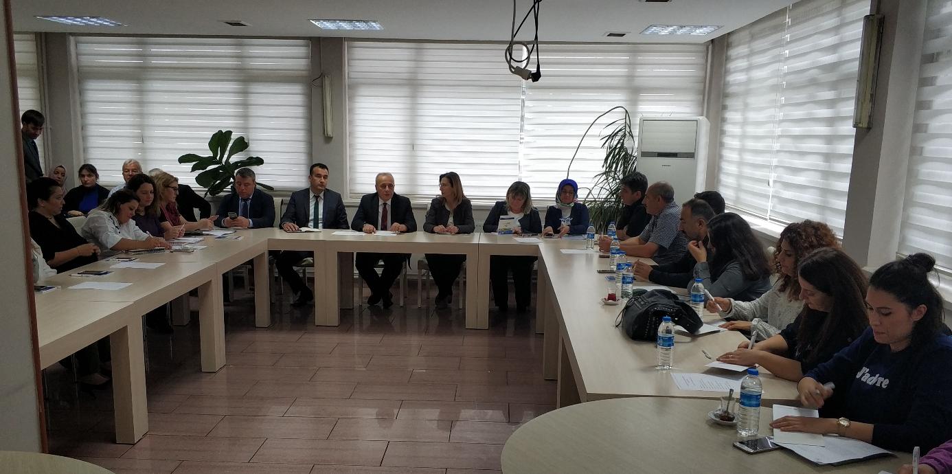 İl Müdürlükleri Bölgesel İstişare Toplantılarının Altıncısı Samsun Çevre ve Şehircilik İl Müdürlüğü'nde Gerçekleştirildi.