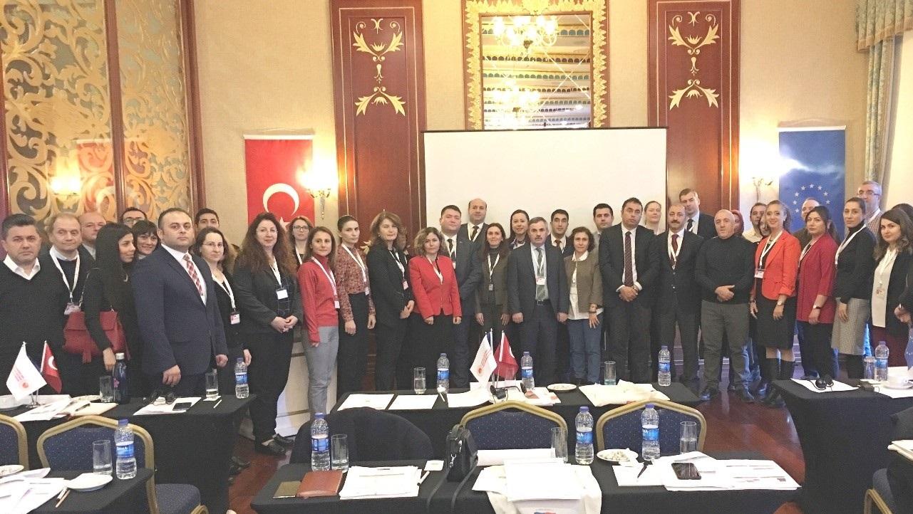 SÇD Yönetmeliği'nin Uygulanmasının Desteklenmesi Projesi Kapsamında Çalıştaylar düzenlenmiştir.