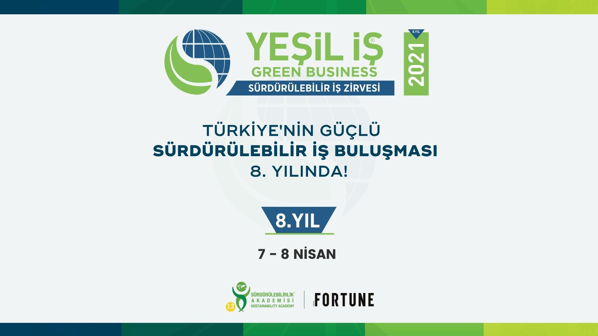 Türkiye Çevre Etiketi Sistemi Sürdürülebilir İş Zirvesi'nde tanıtıldı.