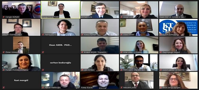 Türkiye Kozmetik ve Temizlik Ürünleri Sanayi Meclisi Toplantısına Katılım Sağlanmıştır.
