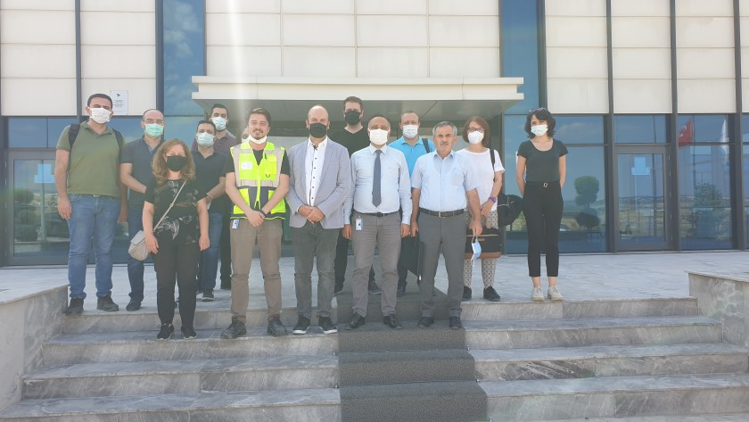 Technical study visit was held for criteria determination in the glass product group.