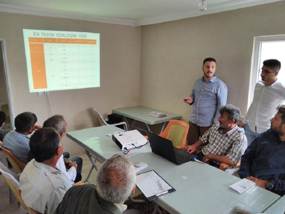 """''154 kV Topaz RES TM-Çekerek Havza TM Elektrik Enerjisi İletim Hattı Projesi"""" İçin 17.07.2019 Tarihinde ÇED Sürecine Halkın Katılımı Toplantısı Yapılmıştır."""