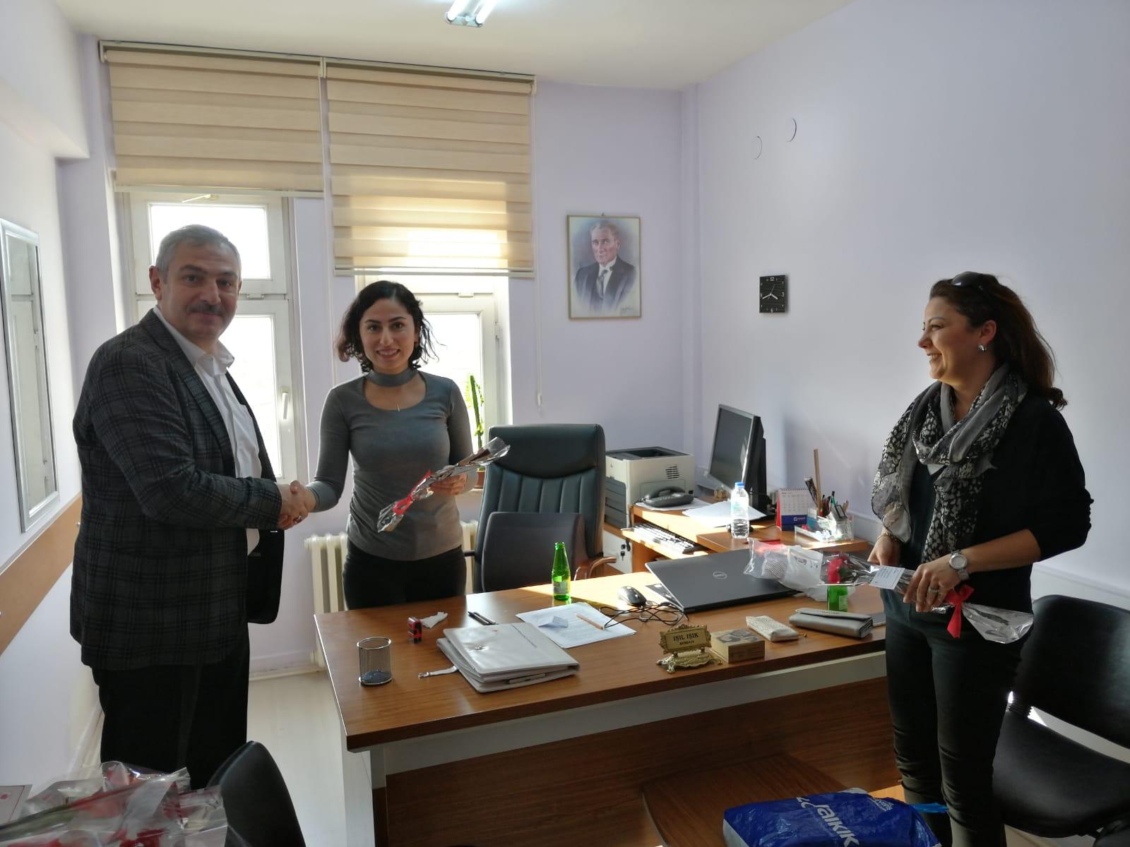 8 Mart Dünya Kadınlar Günü İl Müdürlüğümüzde Kutlandı.