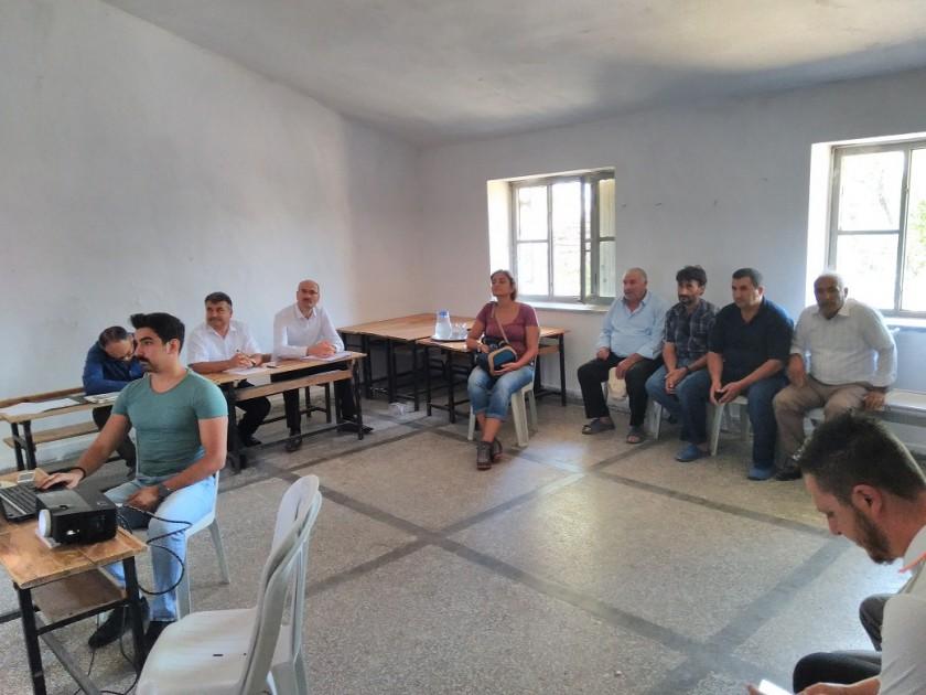 """""""82822 ve 77090 Ruhsat Numaralı Kil Ocağı Kapasite Artışı"""" Projesi İçin 28.08.2018 Tarihinde Halkın Katılımı Toplantısı Yapılmıştır."""