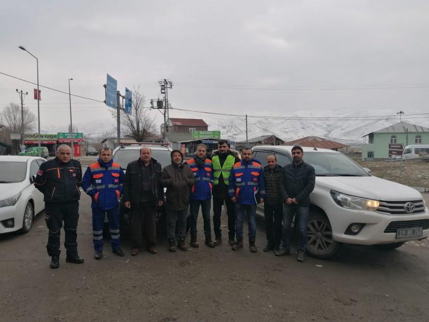 Elazığ-Malatya Deprem Bölgesinde Müdürlüğümüz Personellerinin de Görev Aldığı Hasar Tespit Çalışmaları Devam Etmektedir.