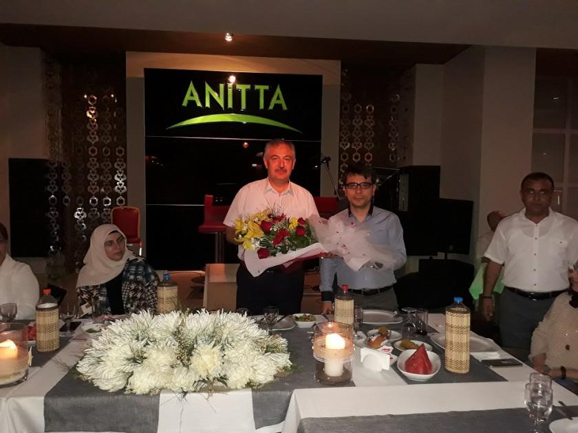 Emekli Olan, İl Müdürümüz Suat ATMACA İçin Veda Yemeği Düzenlendi.