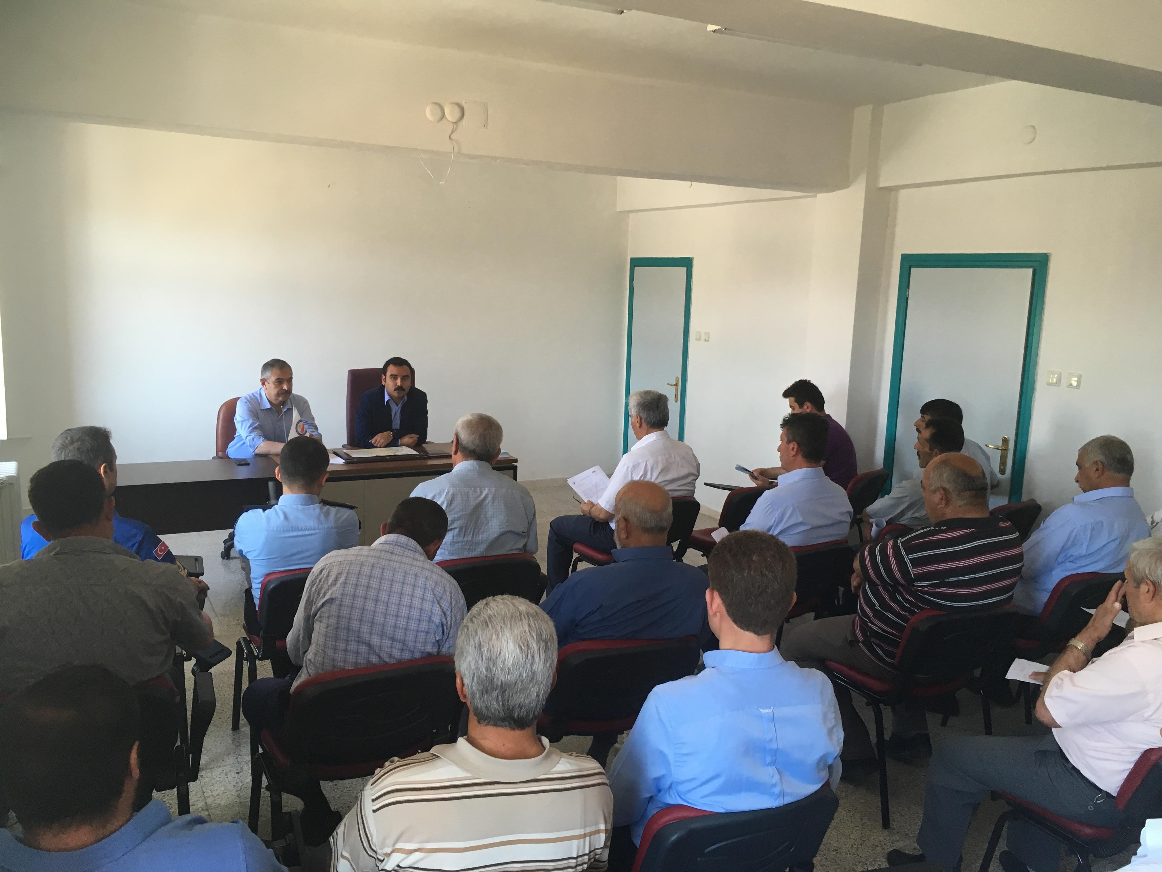 İl Müdürlüğümüzce, İmar Barışı kapsamında; İlçelerde, İlçe Köy ve Mahalle Muhtarlarına bilgilendirme toplantıları yapıldı.
