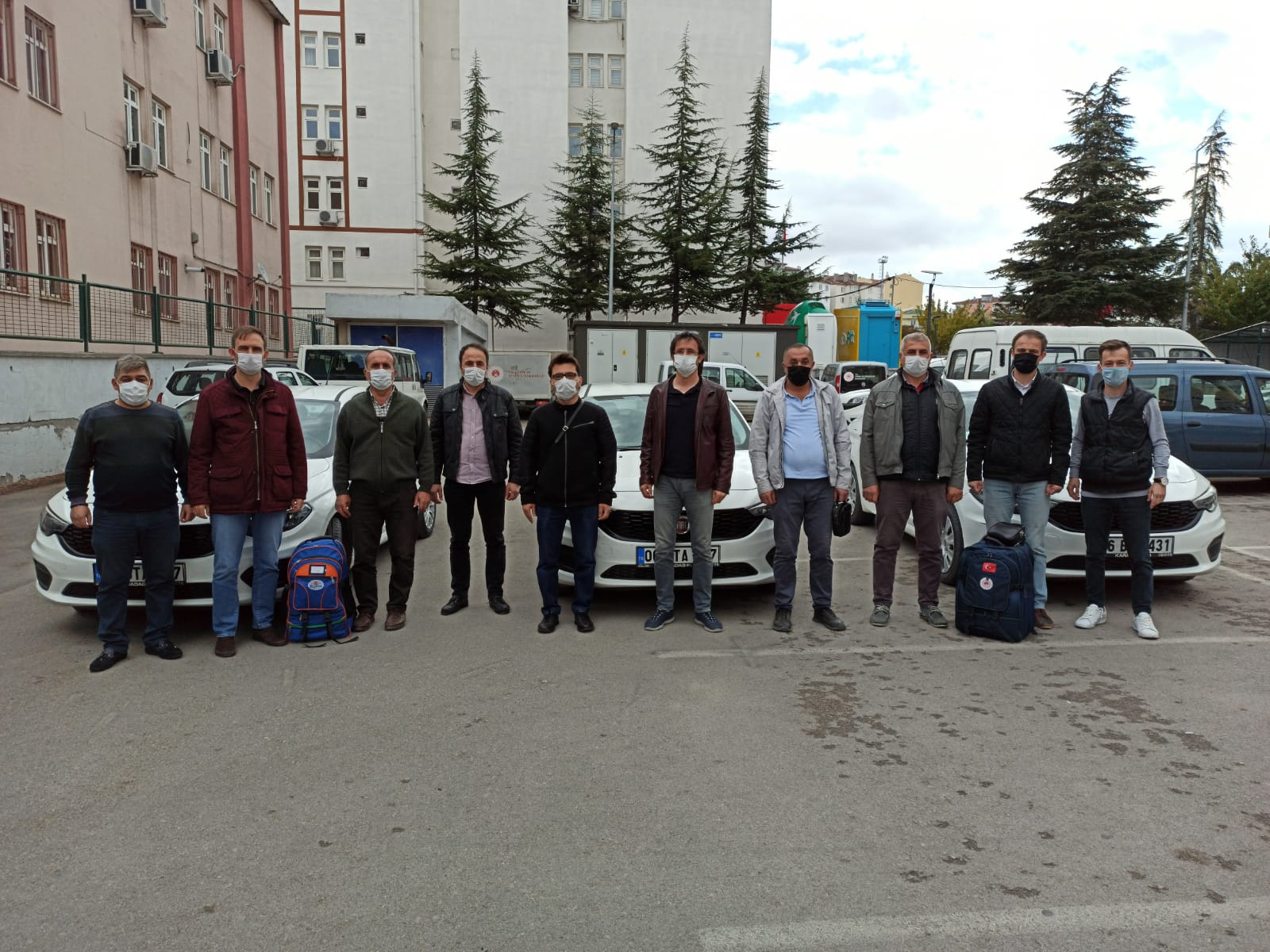 İzmir Depremi Sonrası Hasar Tespit Çalışmaları Yapmak Üzere Görevlendirilen Personellerimiz Deprem Bölgesine…