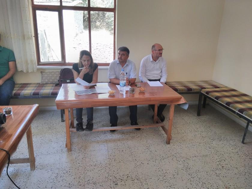 ''Kalker Ocağı ve Kırma Eleme Tesisi Kapasite Artışı ve Yıkama Ünitesi İlavesi Projesi'' İçin 29.08.2018 Tarihinde Halkın Katılımı Toplantısı yapılmıştır.