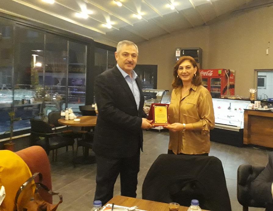 Müdürlüğümüz Personellerinden Mimar İlknur COŞKUNER İçin Veda Yemeği Düzenlendi.