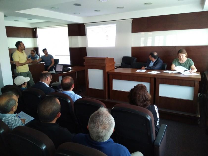 ''Tarıma Dayalı İhtisas Organize Sanayi Bölgesi'' Projesi Hakkında Halkın Katılım Toplantısı Yapılmıştır.