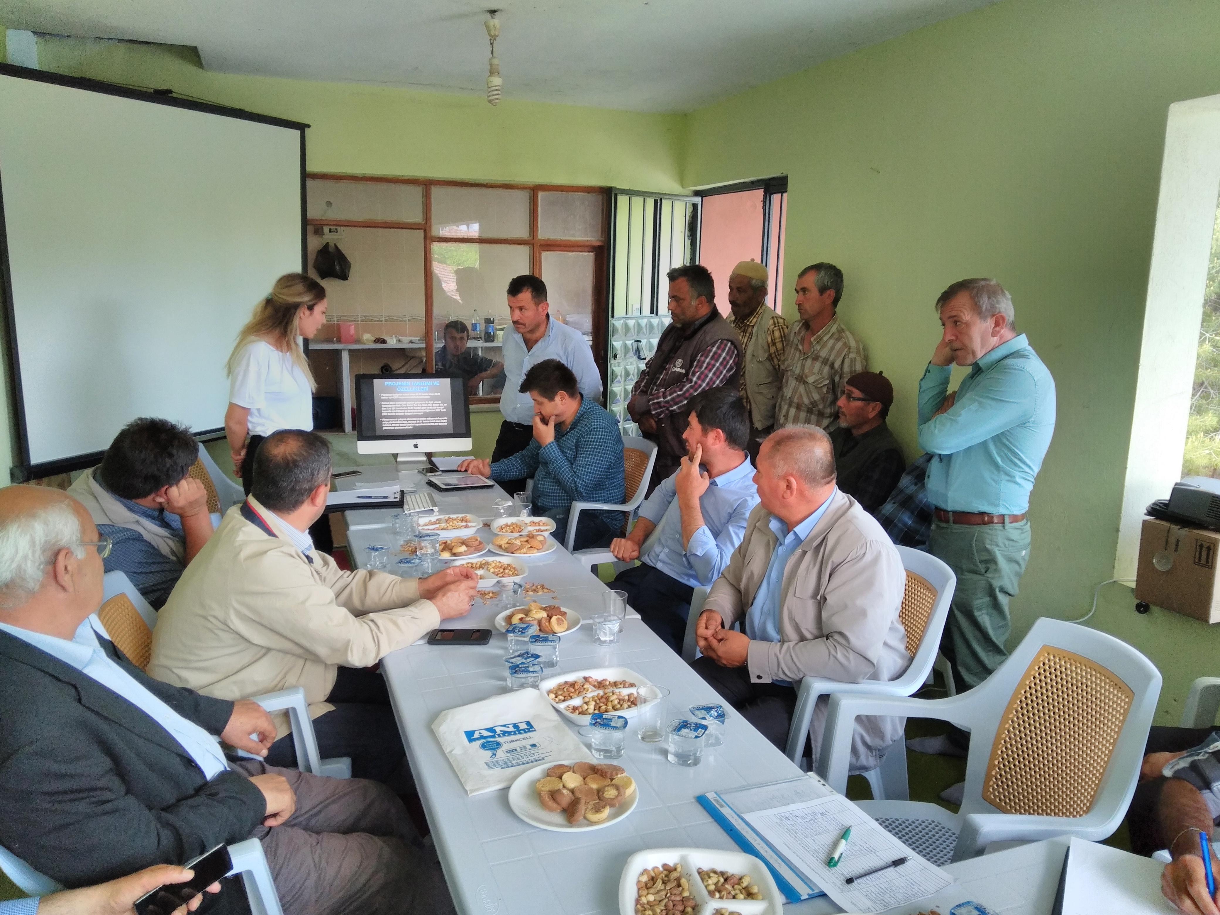 ''Tuğla Kiremit Kil Ocağı Alan ve Kapasite Artırımı'' Projesi İçin Halkın Katılımı Toplantısı Gerçekleştirilmiştir.