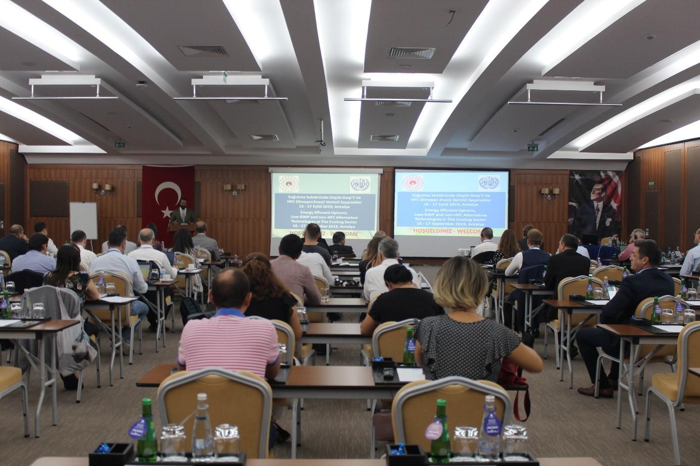 32. Uluslararası Ozon Tabakasının Korunması Günü Antalya'da kutlandı…