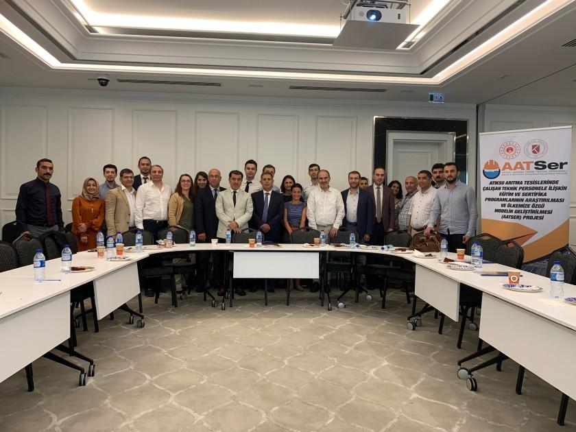 Atıksu Arıtma Tesislerinde Çalışan Teknik Personele İlişkin Eğitim ve Sertifika Programlarının Araştırılması ve Ülkemize Özgü Modelin Geliştirilmesi Projesi (AATSER) Yönlendirme Kurulu/Danışmanlar Toplantısı Yapıldı.