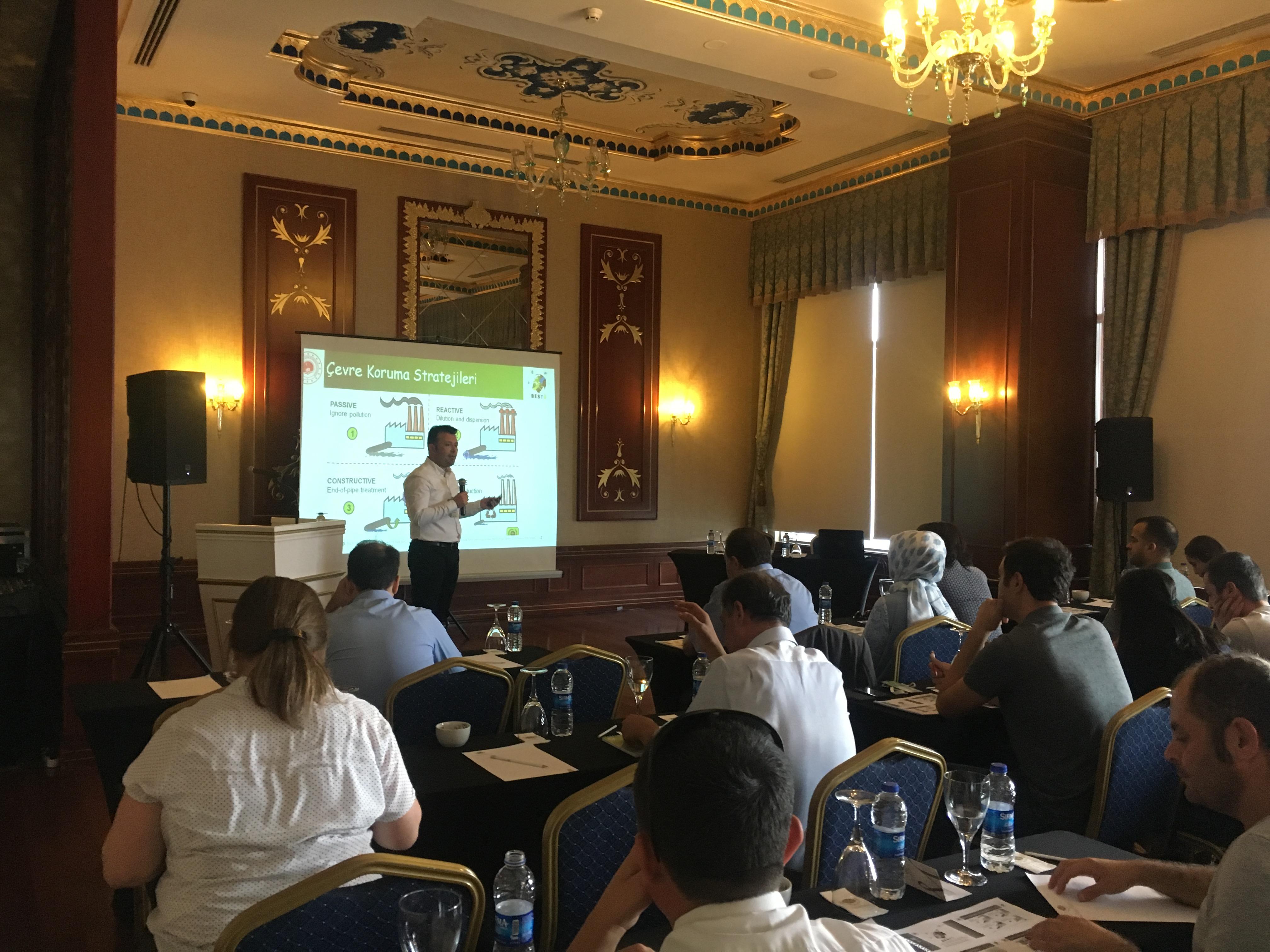Belirli Sektörlerde Temiz Üretim Uygulamaları Projesi (BESTÜ) Açılış Toplantısı ve Proje kapsamında Eğitim Programı gerçekleştirildi.