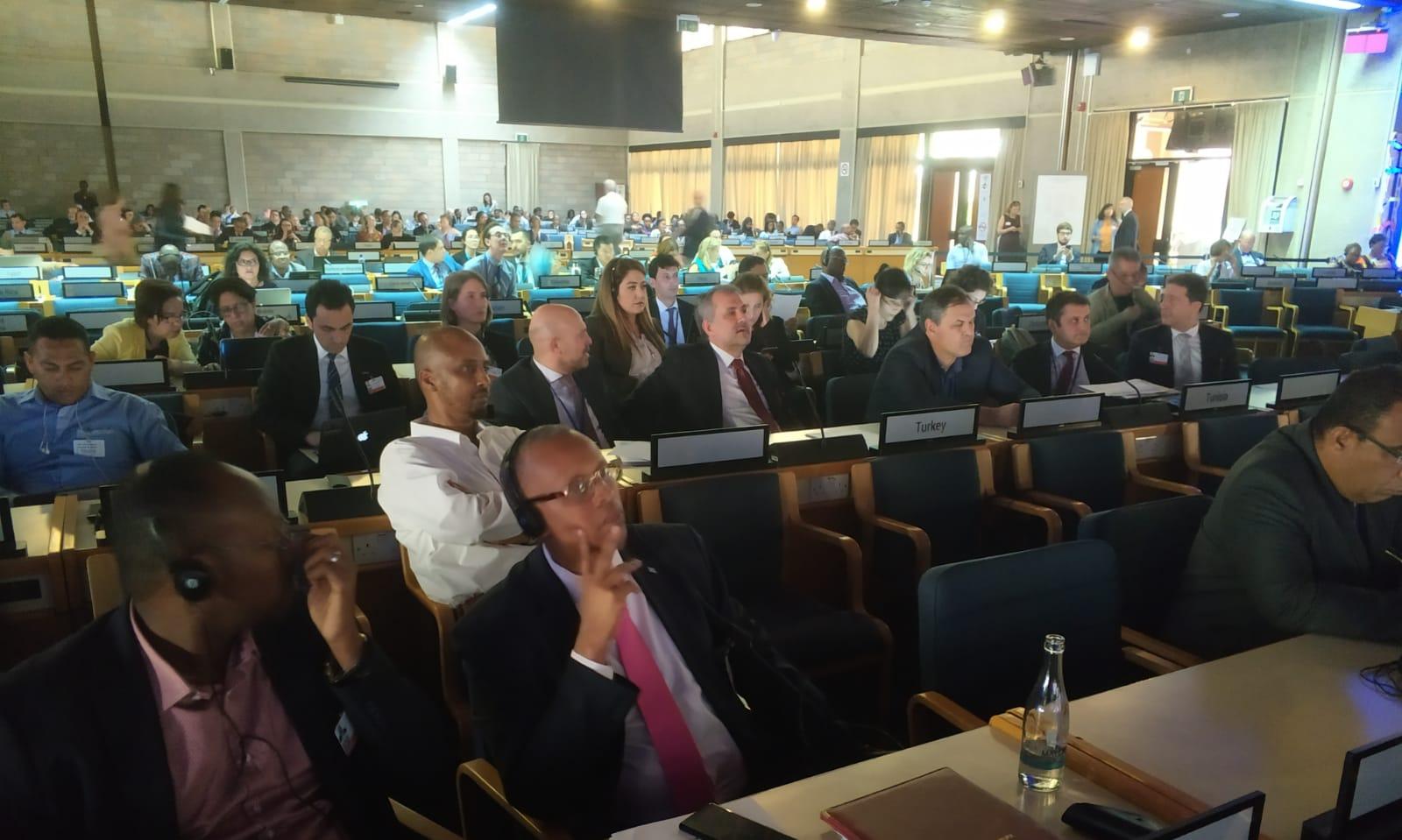 Çevre ve Şehircilik Bakan Yardımcısı Sn. Prof. Dr. Mehmet Emin BİRPINAR başkanlığındaki heyet, 4. Birleşmiş Milletler Çevre Asamblesi'ne katılım sağladı.