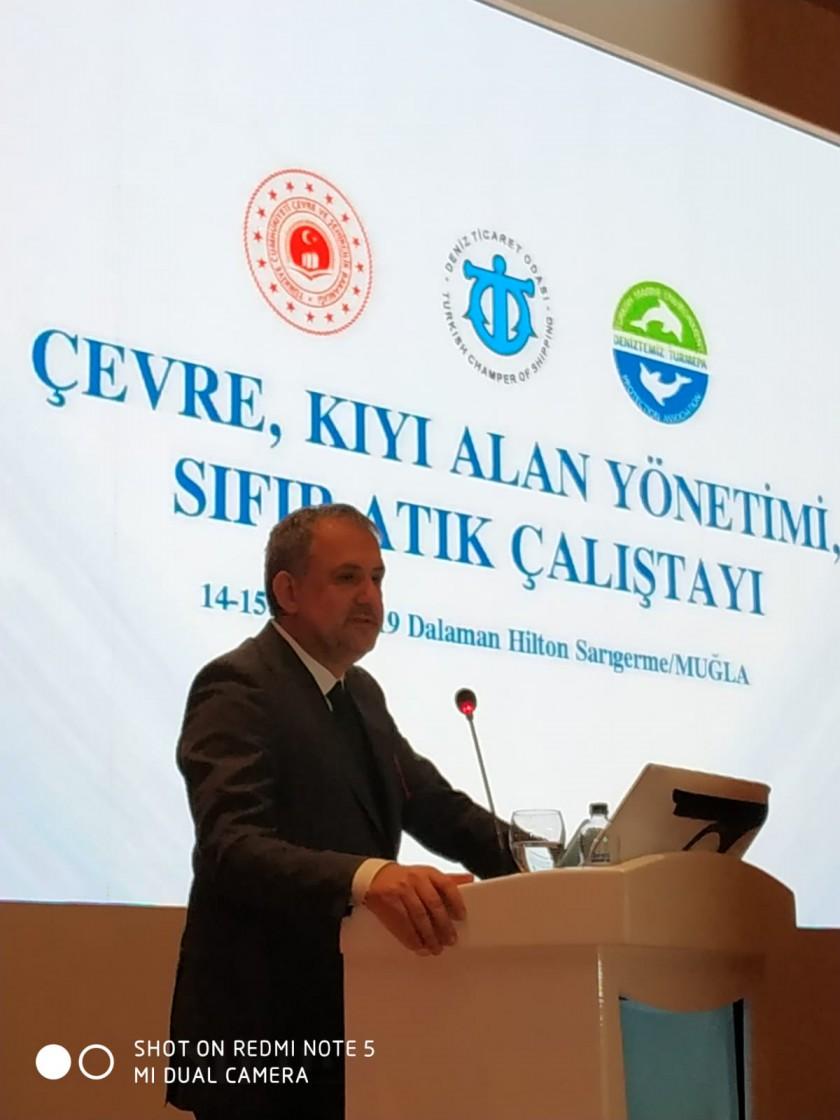 Çevre, Kıyı Alanları Yönetimi, Sıfır Atık Çalıştayı Dalaman/Muğla'da gerçekleştirildi.