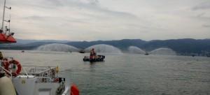 İzmit Deniz Kirliliğine Acil Müdahale Bölgesel Tatbikatı gerçekleştirildi.