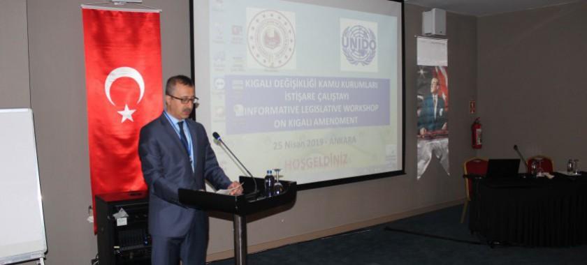 Kigali Değişikliği,  25 Nisan 2019 Tarihinde Ankara'da  Yapılan Bir Çalıştay İle Kamu Kurum ve Kuruluşlarına Tanıtıldı